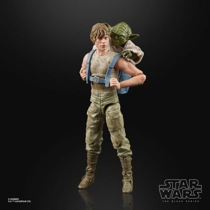 Hasbro Star Wars Black Series Luke & Yoda (Jedi Training) Deluxe Action Figure 2-Pack